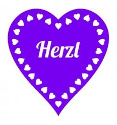 Klebetattoo Herzl (Wiesn-Herz)
