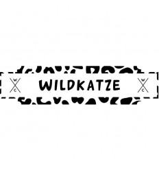 WC-Schild Wildkatze