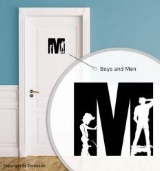 WC Schild (MEN)