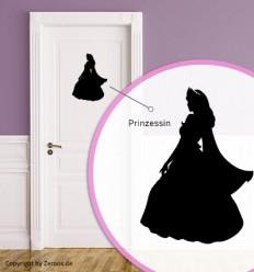 Türtattoo Prinzessin