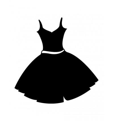 Türsymbol Kleid