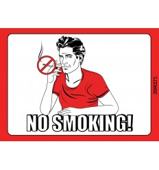 No Smoking - Man!