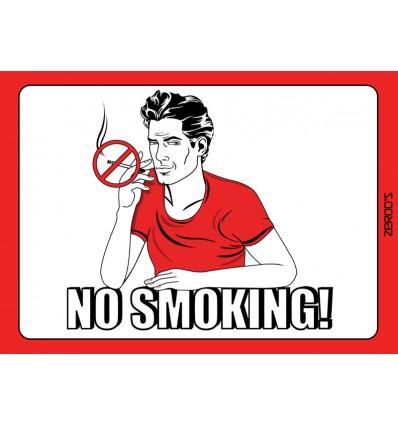 No Smoking - Man!